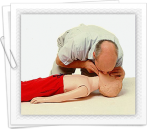 Guide to performing CPR on children who are chocking