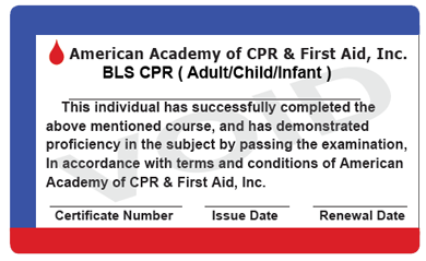 Online CPR Certification Combine Courses - Cpr card template