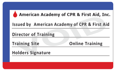 BLS For Healthcare Providers CPR And AED Certification - Cpr card template