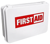 Certified First aid box