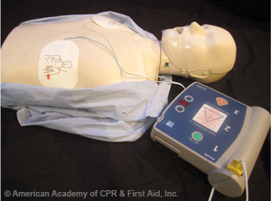 Sequence using AED